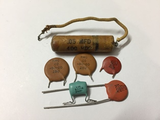 Vintage capacitors